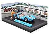 Michel Vaillant Le Mans 1961 - 1/43 IXO VOITURE + FIGURINE + DECOR V1
