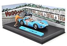 Générique Michel Vaillant Le Mans 1961 - 1/43 IXO Voiture + Figurine + Decor V1
