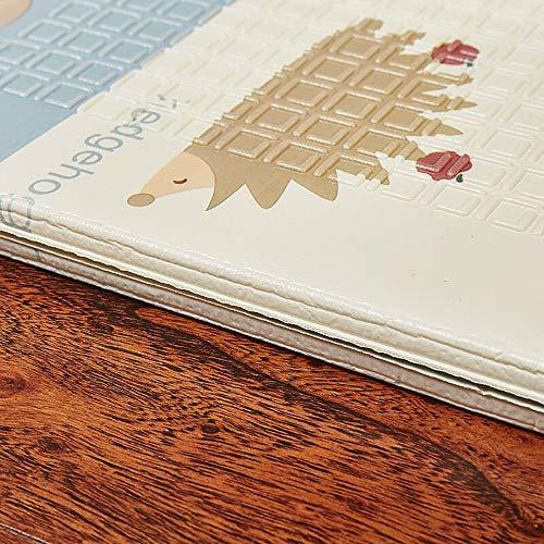 MU Home Wohnzimmer Eingang Nachttisch Teppich-A-runder Teppich Kinder Krabbeldecke Xpe Material Rechteck Einfach und elegant Zusammenklappbar Kinderzimmer/Wohnzimmer/Schlafzimmer 150Cm * 200Cm -