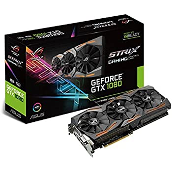 Asus GeForce ROG STRIX-GTX1080-8G-Gaming Scheda Grafica da 8 GB, DDR5X