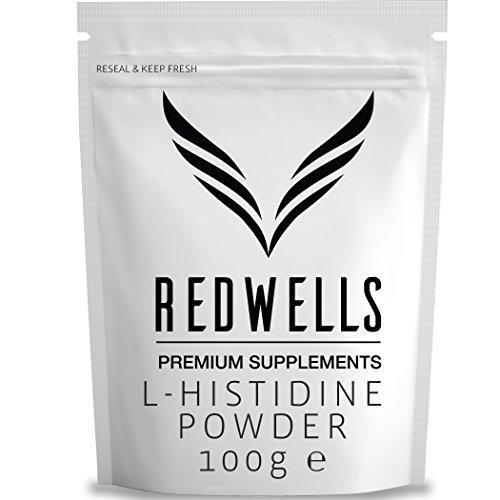REDWELLS-Pure-Histidine-Powder-No-Additives-w-FREE-SCOOP