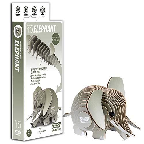 Brainstorm Toys D5002 Eugy Elefant 3D-Bastelset, Keine (Sammlerstücke Figuren Elefanten)