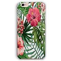 Tropical Flowers - Carcasa rígida para iPhone 5 y 5S, diseño de Flores