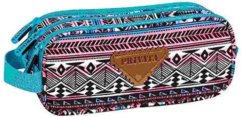 Privata Kiowa Mochila Tipo Casual, 22 cm, Multicolor