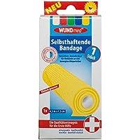 WUNDmed 04-015 Selbsthaftende Bandage Gelb 4.5m x 7.5cm (J5/8) preisvergleich bei billige-tabletten.eu