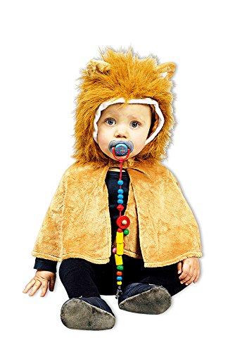 Kleinkind Mädchen Kostüm Löwen - Löwen Cape Baby - Kostüm für Kleinkinder - Gr. 98