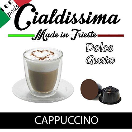Cialdissima Dolce Gusto Cappuccino - 100 kompatible Kapseln