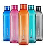 #9: Cello Venice Bottle 1000 ml, Set of 5, Assorted