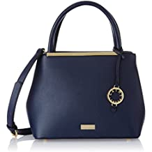 Cathy London Women's Handbag, Colour- Blue, Material- Synthetic Leather