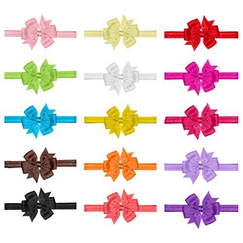 ig Haarspange Haarschmuck Accessoire Fliege Schleife für Kinder Mädchen verschiedene Farben und Designs ()