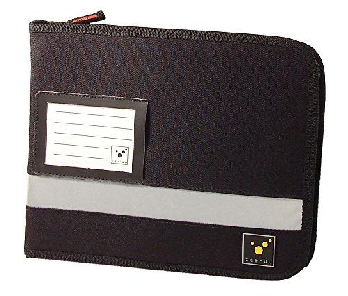 Preisvergleich Produktbild tee-uu TOUR Organizer Fahrtenbuchmappe schwarz (DIN A5 Querformat)