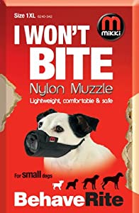 Mikki Muselière de dressage pour chien Taille 1 XL
