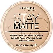 Rimmel London, Stay Matte Pressed Powder, 04 Sandstorm, 14 g