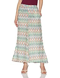 Libas Womens Palazzo (PL210_Multicoloured_L)