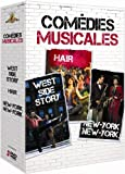 Comédies musicales : west side story ; hair ; new york, new york [FR Import]