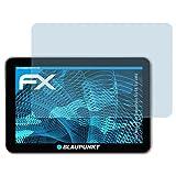 atFoliX Displayschutzfolie für Blaupunkt TravelPilot 53 CE EU LMU Schutzfolie - 3 x FX-Clear kristallklare Folie