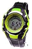 Montre Watch Enfant Digital quartz Etanche Chrono Alarme Plusieurs Coloris (vert)