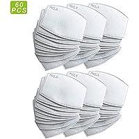 papel de filtro de carbón activado PM2.5 reemplazable, con 5 capas precisas.