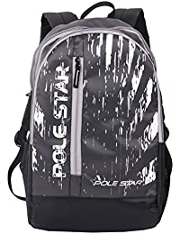 "POLESTAR"" ICON 30 Lt Black Casual/School/College Or Travel Backpack"