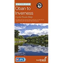 Oban to Inverness Cycle Route Map: The Official Route Map and Information Covering the 115 Mile Caledonia Way Cycle Route Between Oban to Inverness