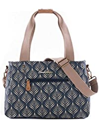 Brakeburn Canvas & Beach Tote Bag, Teal - Blue - Bblbag001623F17