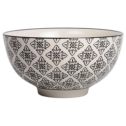 IB LAURSEN - Bol en grès décor oriental noir et blanc IB Laursen Casablanca
