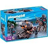 Playmobil - 4868 - Jeu de construction - Baliste à 6 projectiles et chevaliers du Faucon