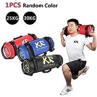 ckground 5//10//15//20kg Filled Weight Sand Power Bag Strength Training Fitness Exercise Workout Sandbag Random Color //Durable