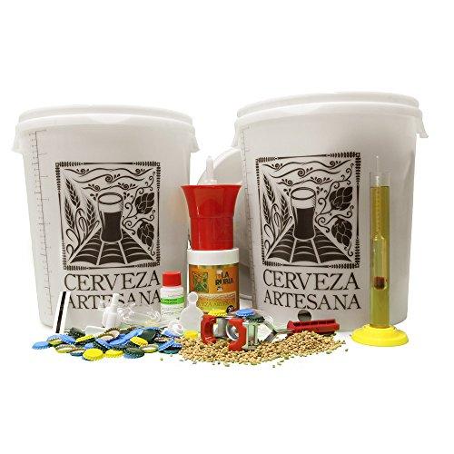 Kit Completo de elaboración de 20 litros de Cerveza Artesana calidad Doble Superior