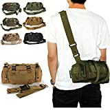 CAMTOA Tactical Gürteltasche Hüfttasche Beutel für Militär Camping Wandern Outdoor
