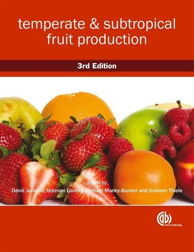 Temperate and Subtropical Fruit Production Cover Image