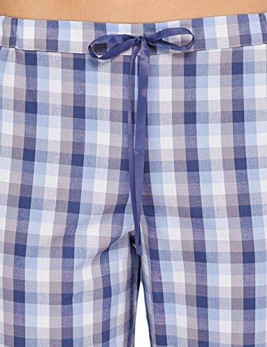 Schiesser Mix & Relax Web Hose Lang, Peached - Bas de pyjama - Femme Multicolore - Multicolore (1 904)