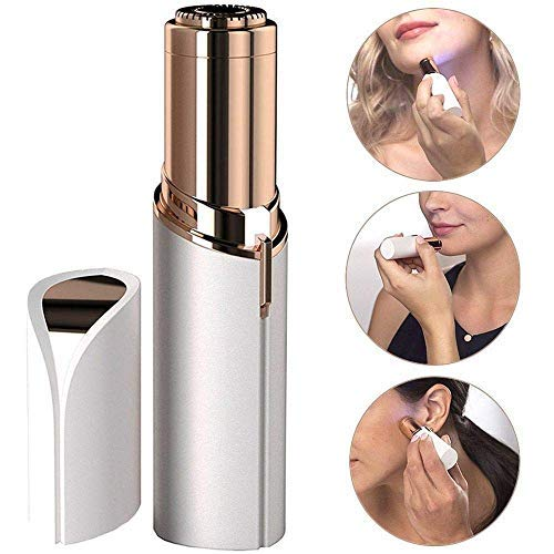 Clientell Painless Portable lipstick Shaped Women Hair Remover Electric Razor Machine for Women