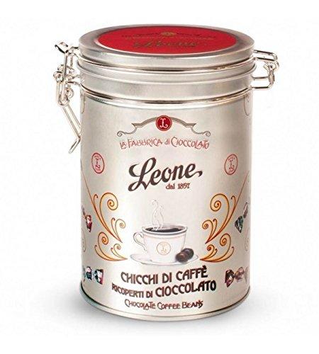 Chicchi di caffè ricoperti di cioccolato in latta da 150g