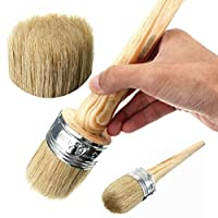 Chalk Paint Wax Brush for Painting or Waxing Furniture Home Decor by ULTNICE