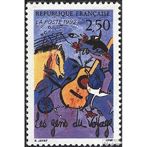 sellos para coleccionistas: Francia 2932 (completa.edición.) nuevo con goma original 1992 Gitanos