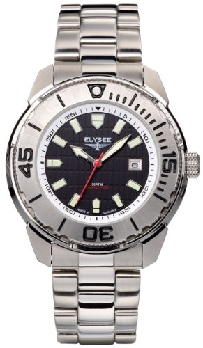 Elysee Men's Quartz Watch 60110S with Metal Strap