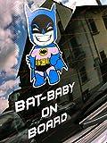 Pegatina Star Wars Baby Darth Vader ON BOARD para coche Wars Galáctico Batman 2