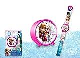 Kids Licensing–wd16724–Geschenk Set Wecker und Digitaluhr–Frozen