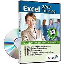 Excel 2013 Training - In 8 Stunden Excel sicher anwenden [1 Nutzer-Lizenz]