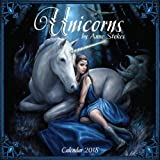 Unicorns by Anne Stokes – Einhörner von Anne Stokes 2018: Original Flame Tree Publishing-Kalender [Kalender] (Wall-Kalender)