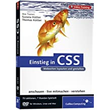 Einstieg in CSS - Das Video-Training auf DVD