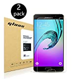 [2-Pack] Samsung Galaxy A5 2016 Displayschutzfolie, HoPerain [Hartglass] Panzerglas Schutzfolie,9H Hartglass, Anti-Kratzer, Anti-Fingerabdruck