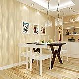 Europäische Vintage Luxus Tapeten Strukturierte Tapetenrolle Dekoration 0.53m10m = 5.3㎡ Golden 53x1000cm