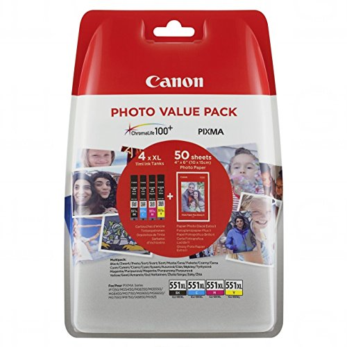 canon-cli-551-x-l-c-m-y-bk-serbatoi-d-inchiostro-carta-fotografica-ciano-magenta-giallo-nero-xl-4-x-