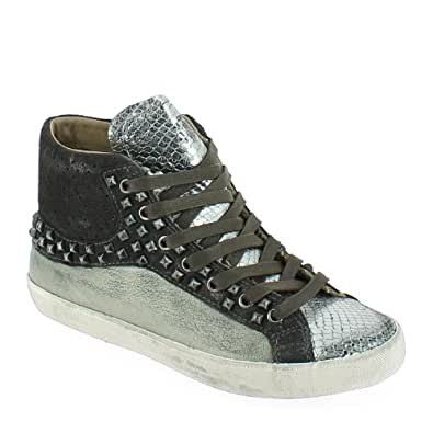 crime damen sneakers salbei 40 schuhe handtaschen. Black Bedroom Furniture Sets. Home Design Ideas