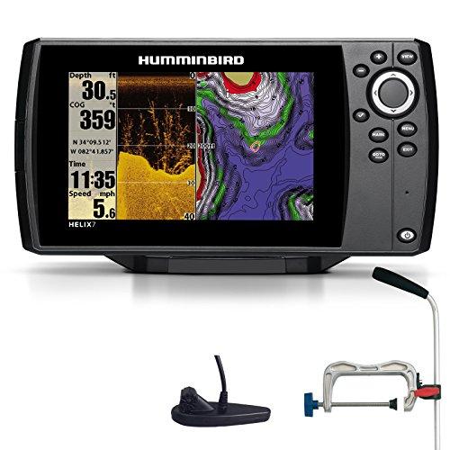 Humminbird Helix 7 DI GPS Down Imaging Echolot Seekartenplotter Combo Portabel Profi