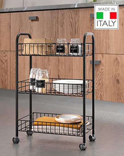Imagen de Carrito Auxiliar de Cocina Metaltex por menos de 25 euros.