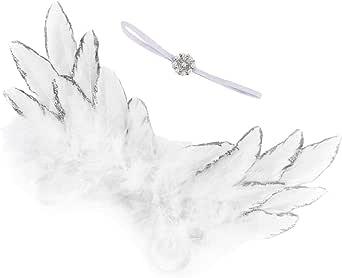 Bandeau avec Ailes D/'ange d/'enfant Pour Jeux de Maquillage Ornements Costume