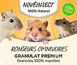 Roedores Omnivores engrudo Premium 100% insectos.–110gramos.